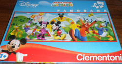 28093 PUZZLE CLEMENTONI MICKEY MOUSE CLUB HOUSE
