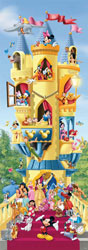 PUZZLE EDUCA 14217 CASTILLO DISNEY